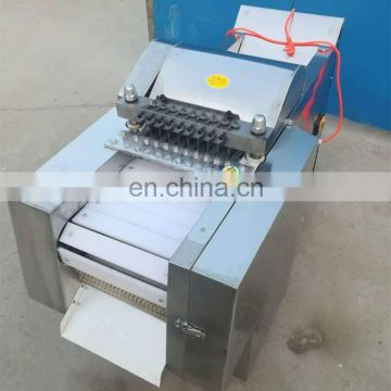 Big Capacity Multifunctional chicken cube cutting machine / beef meat dicer cutting machine
