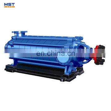 Centrifugal multistage pump to increase water pressure