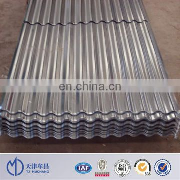 Supply zinc roof sheet price