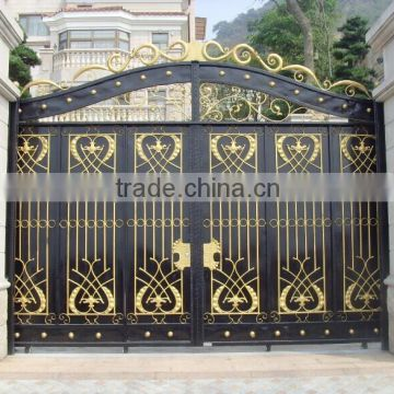 Steel Gate Factory Metal Gate Gate For House Decorative Iron