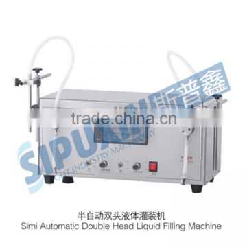 2016 Hot selling semi-automatic anti-corresive insecticide of water aqua filling machine