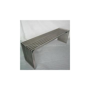 Amici Stainless Steel Bench