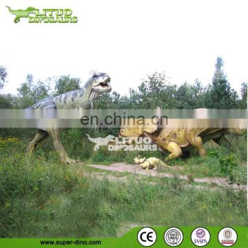 Jurassic world highly simulated walking dinosaurs
