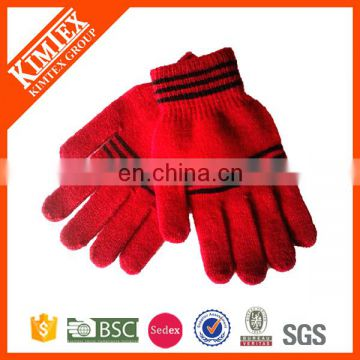 2017 Winter fashion custom design acrylic knit gloves