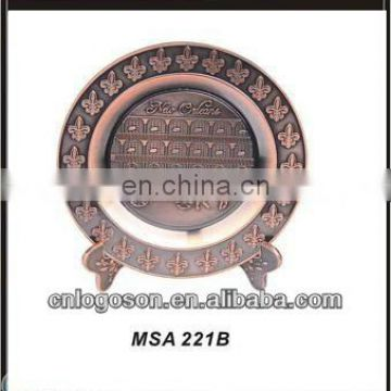 New vintage promotion wholesale china supplier souvenir decoration plate
