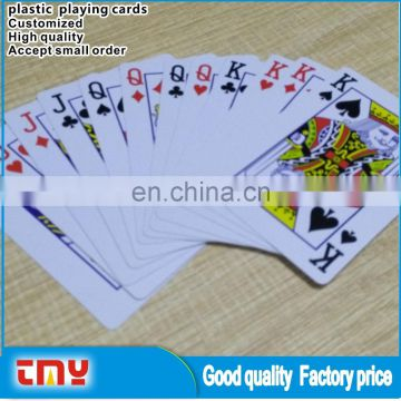 Waterproof Plastic Playing Card Wholesale, Customized Adult Plastic Playing Card