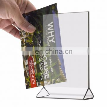 acrylic display sign holder 4x6 plastic sign holder of other from