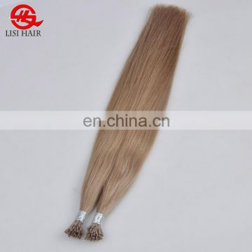 New Arrival Last 24 Months Full Cuticle Flat Tip Prebonded Human Hair