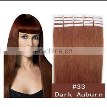 Hot sale factory cheap price high quality 100% human remy tape hair extensions