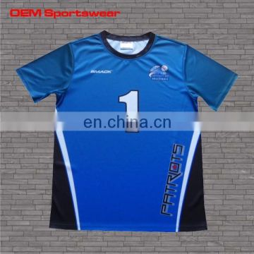 Best printing custom sublimation dry fit sports tee