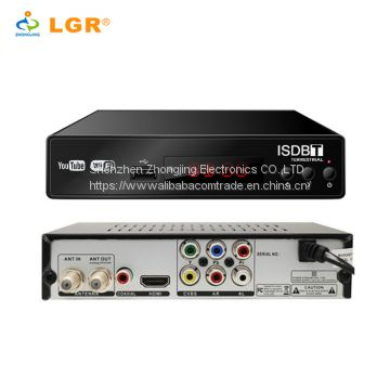 manufacture OEM HD strong signal tuner isdb-t digital tv decoder set top box isdb t Brazil