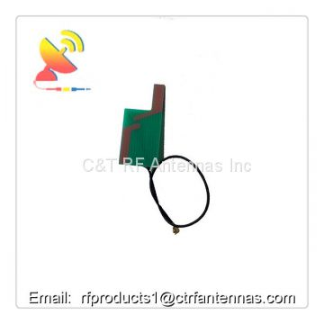 Embedded wifi antenna 2.4G 2dBi internal PCB custom antenna w/U.FL connector and rg 1.13 cable 60mm