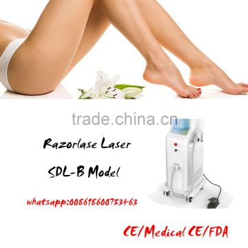 2016 Top Sale Fda Approved Soprano Ice Laser Hair Removal Machine