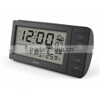 LCD Electronic Temperature Hygrometer with Alarm Clock