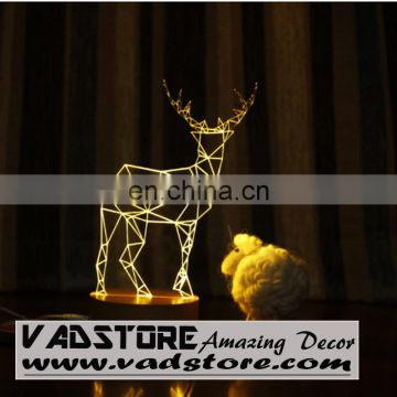 3D LED Deer lamp party club LED LAMP 220V 3D LED