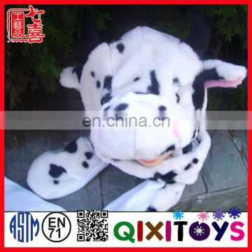 cow plush and stuffed animal hat