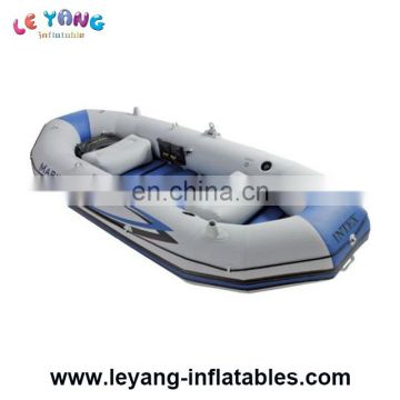 2 rider Rowing Boats inflating fishing boat for water game