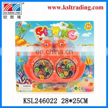kids magnetic plastic cheap wind up fishing