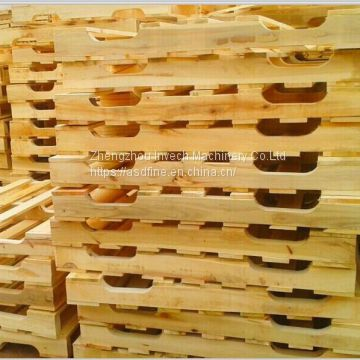 Single Head Wooden Pallets Stringers Notching Machine