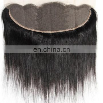 Natural color brazilian hair lace frontal silk virgin human hair lace frontal cheap price real human hair lace frontal