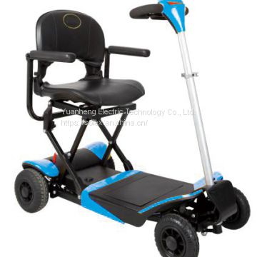CE Certified Lithium Battery Indoor 4 Wheel Adult Electric Mobility Scooter with Seat