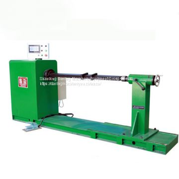 Manual horizontal copper wire winding machine