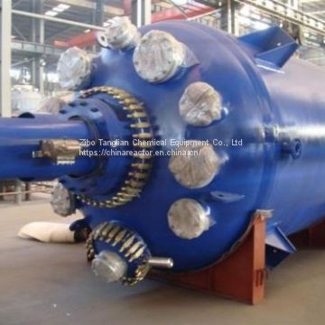 5kl MS glass lined batch reactor with best price from Zibo tanglian factory
