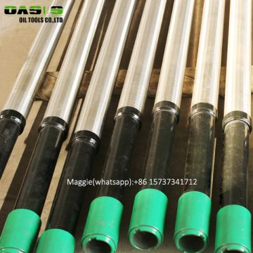 TP304 316L Stainless Steel Double Layer Well Pipe based Screen Professional Multi Screen pipe