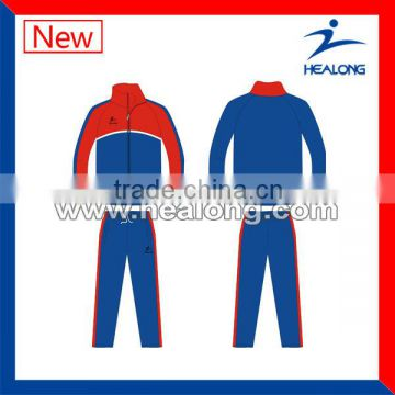 OEM wholesale top quality sport tracksuit