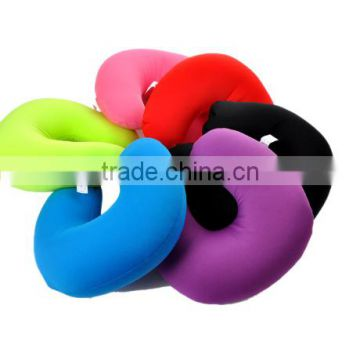 Neck Pillow Massager U Shaped Neck Micro Beads Rest Bed Foam Pillow For Airplane Car Travel Pillow