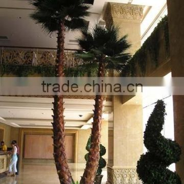 2016 hot sale fake palm tree wholesale artificial coconut palm tree