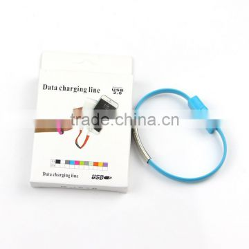 HOT USB Charging Charge Data Sync Cable For Phone Bracelet Wrist Band Charger