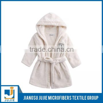 Hot selling good quality super absorbent bath robe for kids