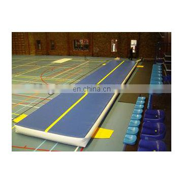 New design inflatable air tumble track for training