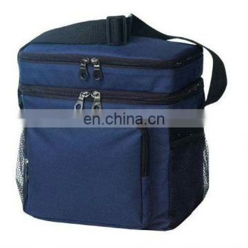 hot sales cooler bag with front and side pocket wine bag