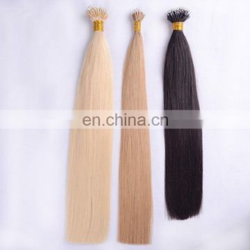 Wholesale 100% Virgin Brazilian Human U Tip Hair 8A Blonde Keratin Pre-Bonded U Tip Hair Extensions For High-End Market