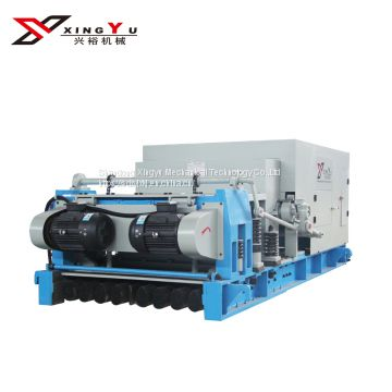 Prefab house hollow core slab machine in china