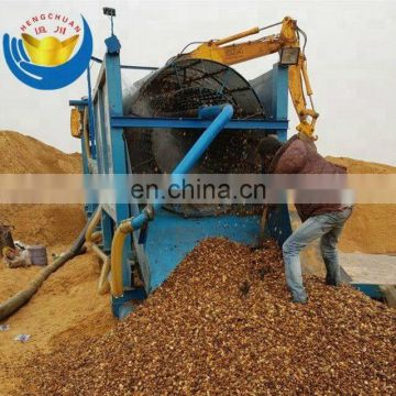 Widely Used Portable Wash Plant Gold Trommel for Alluvial Gold Mine