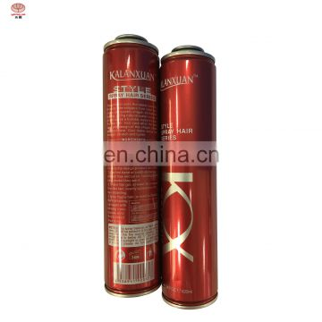 Wholesale  aerosol hair spray paint can  with aerosol tin cans for hair spray