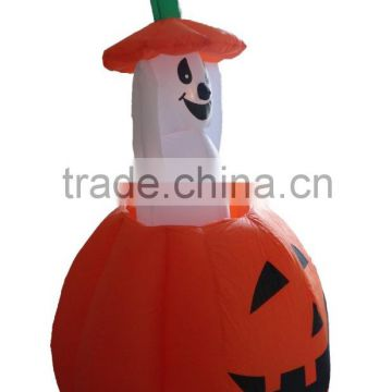 4FT animation elves moving pumpkin decoration inflatable halloween ghost