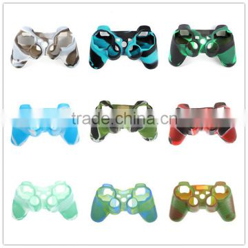 Silicone Rubber Skin Cover Protector Case for Playstation 3 for PS3 Controller Silicone Rubber Skin Cover