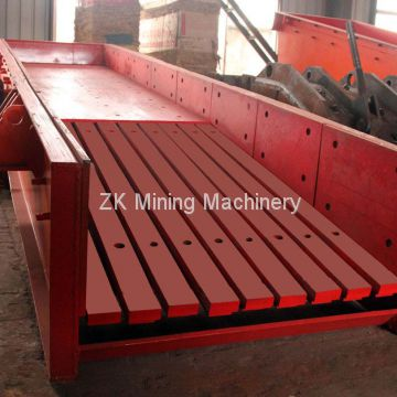 ZSW Series Vibrating Feeder for Ore Stone Crusher Plant