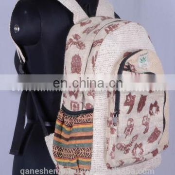Elephant Printed Backpack HBBH 0018a