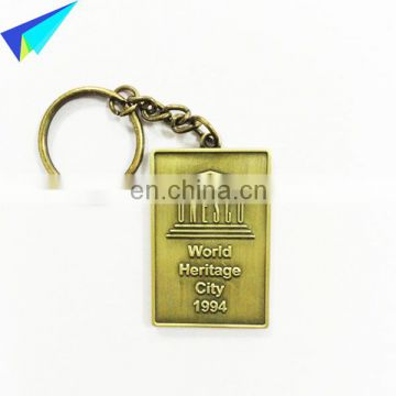 Red Cross Keychain custom made logo keychain Promotional Metal keychain