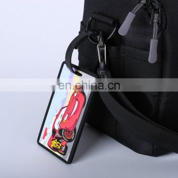 New Style Customized Oem Silicone Baggage Tags Non-Toxic Luggage Tag Pvc
