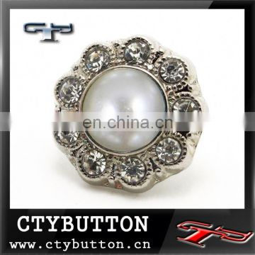CTYRB-0 (374)custom big pearl garment buttons in china