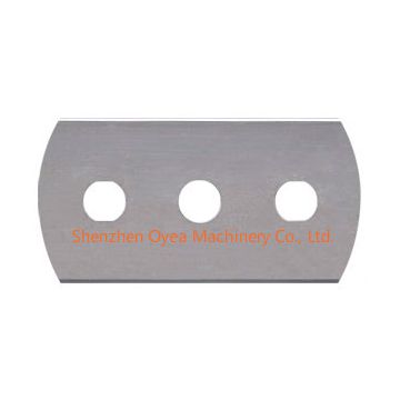 Three hole Razor Blades,3-hole blades,3 Hole Tungsten Carbide Razor