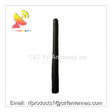 2.4G WiFi antenna rf dipole antenna indoor & outdoor rubber duck antenna with SMA connector