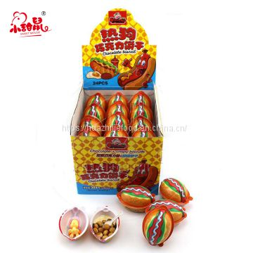 Hot Dog Candy Chocolate Biscuit with Surprise Toy