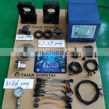 CAT5000 HEUI & 320D Pump Tester can be used with diesel injection test bench